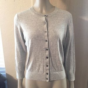 💋Banana Republic Pima cotton Cashmere Caridgan💋